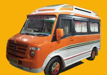 Tempo traveller after remodeling, Coimbatore