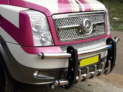 Traveller bumper & running boards