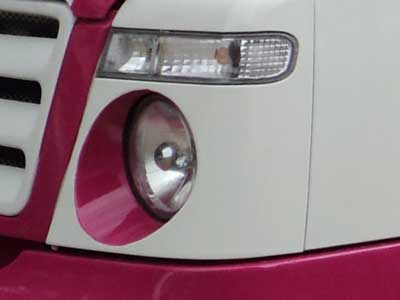Tempo traveller lighting