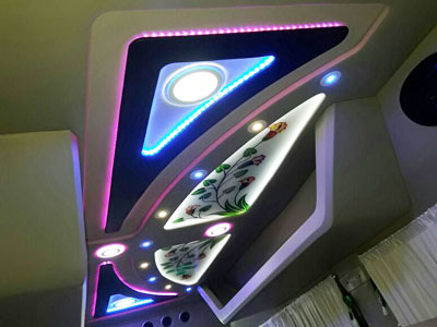 Am Auto Designers Interior Roofings Car Tempo Traveller